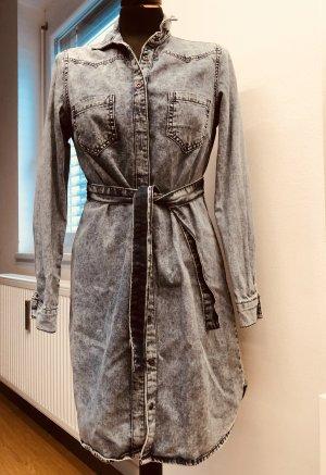 Jeanskleid Kleid Hemdkleid