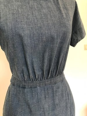 #Jeanskleid, lässiger Schick