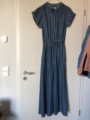Jeanskleid lang Maxi