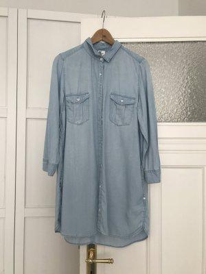 Jeanskleid / lange Bluse // Größe 40