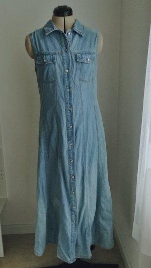 Denim Dress light blue-azure
