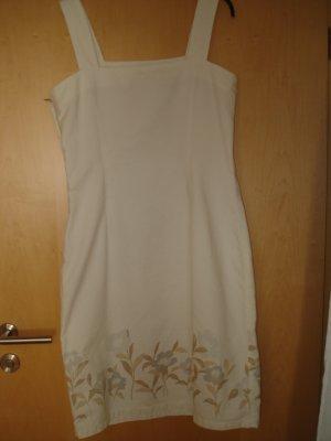 Jeanskleid mit Blüten von Liz Claiborne Gr. 42
