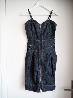 Jeanskleid mit durchgängigem Reißverschluss von APART