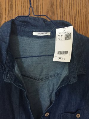 Jeanskleid mit eigenem Gürtel