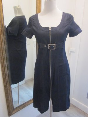 Jeanskleid mit Gürtel & Reissverschluß Gr 40