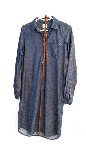Jeanskleid mit Gürtel von G.H. Bass&Co., blau, Gr. XS