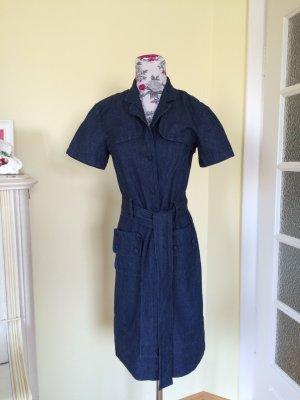 Jeanskleid mit passendem Bolero