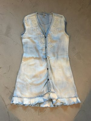 Jeanskleid mit Stickerei // Nolita