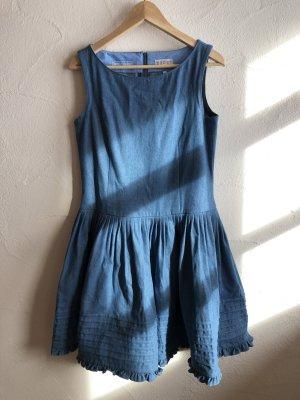 Jeanskleid mit tollem Glockenrock