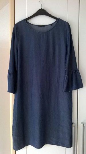 Opus Vestido vaquero azul oscuro lyocell