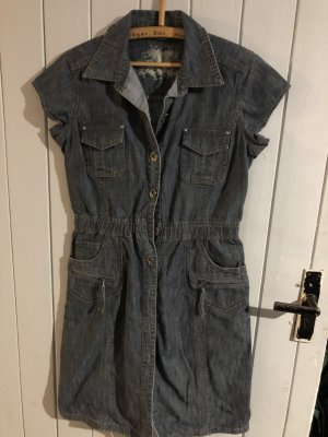 Denim Dress slate-gray