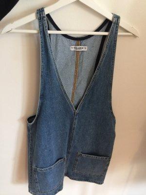 Pull & Bear Jeansjurk blauw
