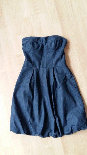 Jeanskleid Sommerkleid Corsagenkleid