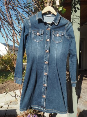 Orsay Denim Dress blue cotton