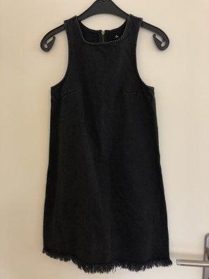 Denim Dress black-grey