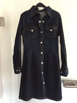 Adriano Goldschmied Denim Dress dark blue cotton