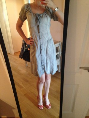 Jeanskleid von dept kurzärmlig