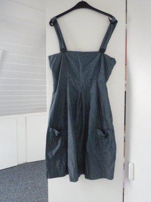Jeanskleid von Flashlight mit Trägern