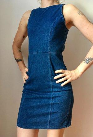 H&M Denim Dress blue-dark blue cotton