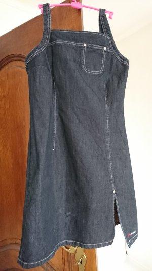 His Jeansjurk donkerblauw