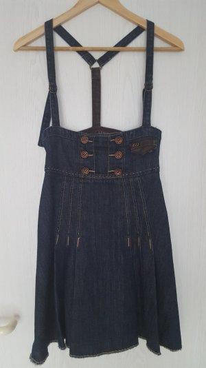 Jeanskleid von Miss Sixty mit Trägern im Dirndlstyle Gr. XS