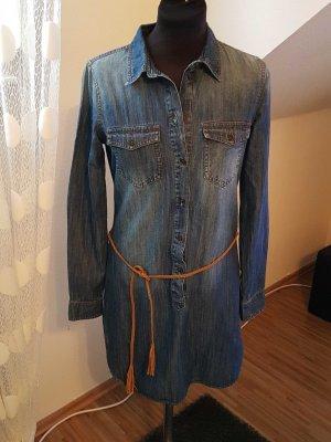 Only Jeansjurk blauw