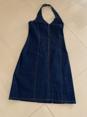 Promod Denim Dress blue cotton