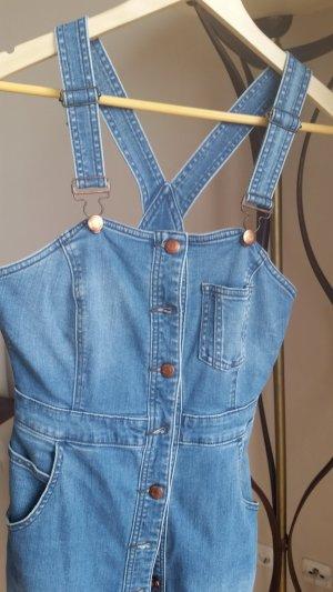 s.Oliver Denim Dress blue-light blue cotton