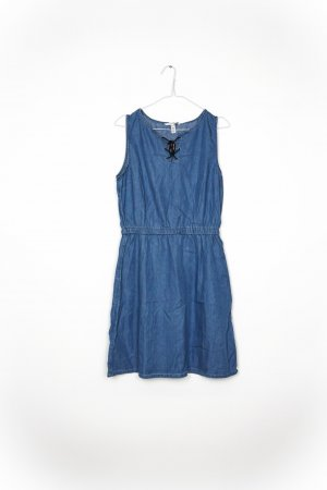 Denim Dress blue violet