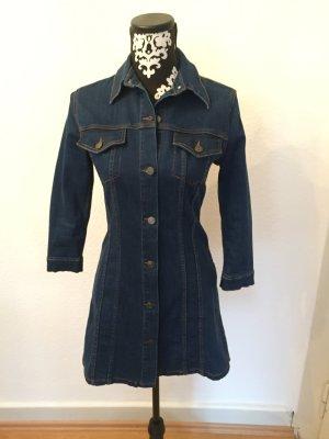 Zara Woman Jeansjurk donkerblauw