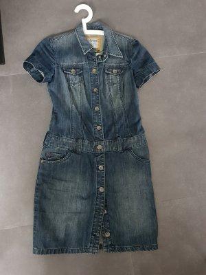 Esprit Robe en jean bleu foncé
