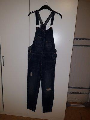 H&M Jeans met bovenstuk donkerblauw