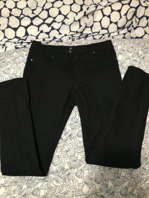 Jeansleggings schwarz