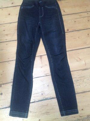 Marc Cain Stretch jeans donkergrijs Gemengd weefsel