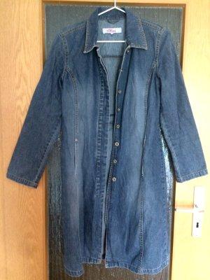 Jeansmantel mit breiten Ärmeln Größe 36