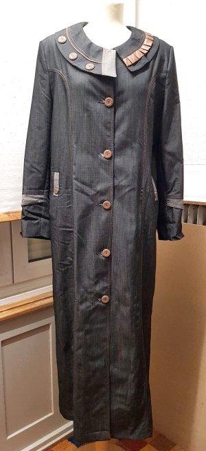 Abrigo largo multicolor