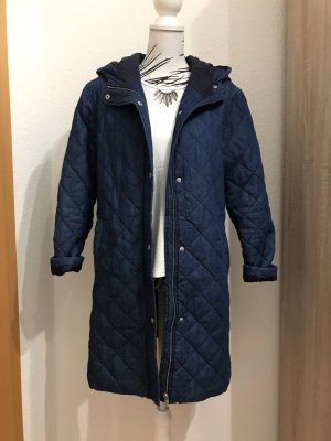 Nümph Hooded Coat blue