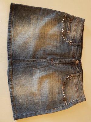Denim Skirt azure