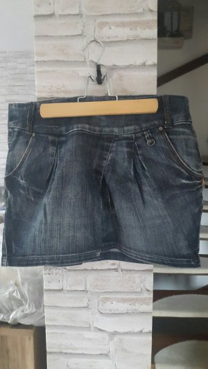 Jeansmini Rock in Denim Denimrock Jeans Rock, Minirock, Promod, Gr. 38