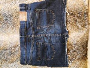 Mango Jeans Jupe en jeans bleu