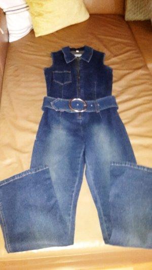 Melrose Jeans met bovenstuk azuur Katoen