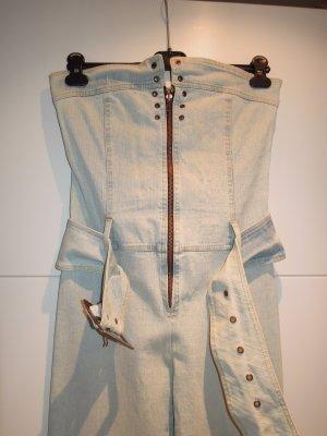 Tailleur-pantalon multicolore coton