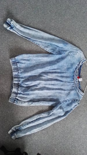 H&M Jeans blouse blauw