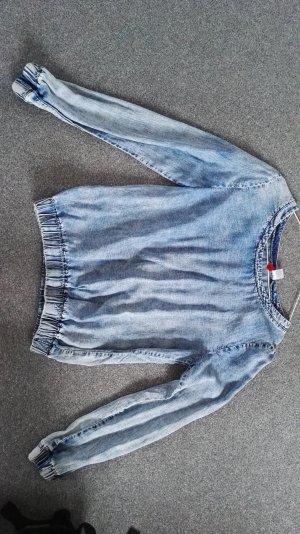 Jeanspullover mit toller Waschung 36