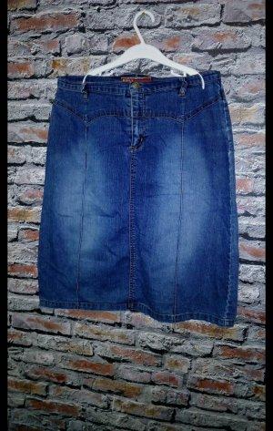 Only Denim Skirt steel blue