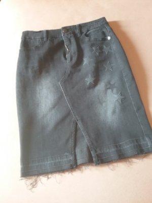 Marc Cain Jupe en jeans noir