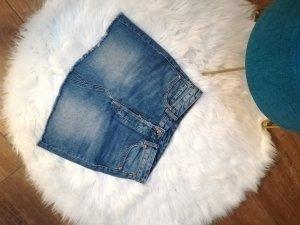 H&M Spijkerrok blauw-staalblauw