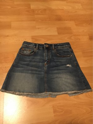 Zara Gonna di jeans grigio ardesia