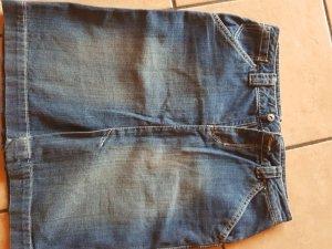 Denim Skirt blue cotton