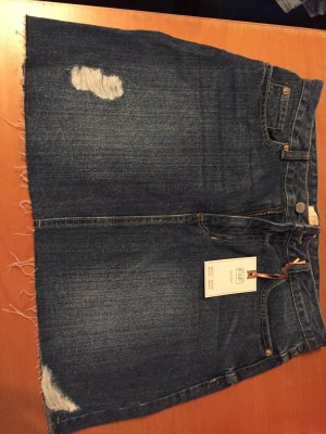 F&F Gonna di jeans blu scuro